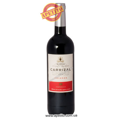 Вино DO Rioja crianza 2014 Carrizal