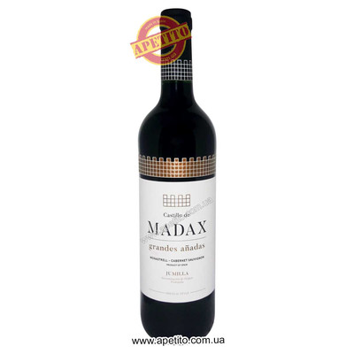 Вино DO Jumilla crianza 2014 Castillo de Madax