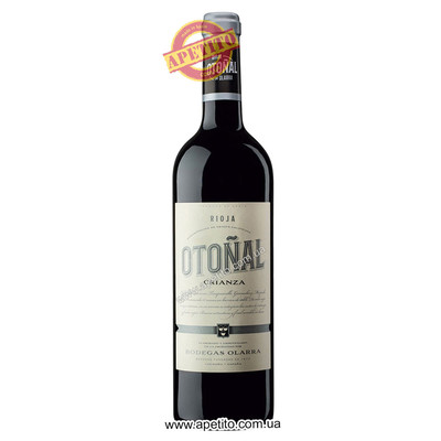 Вино DO Rioja Otonal crianza 2016